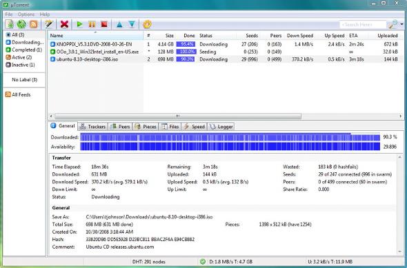 utorrent-downloading