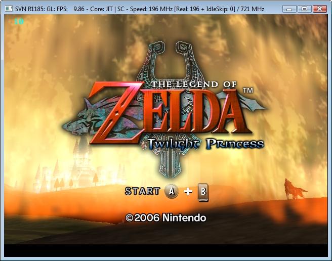 Zelda Rom emulator