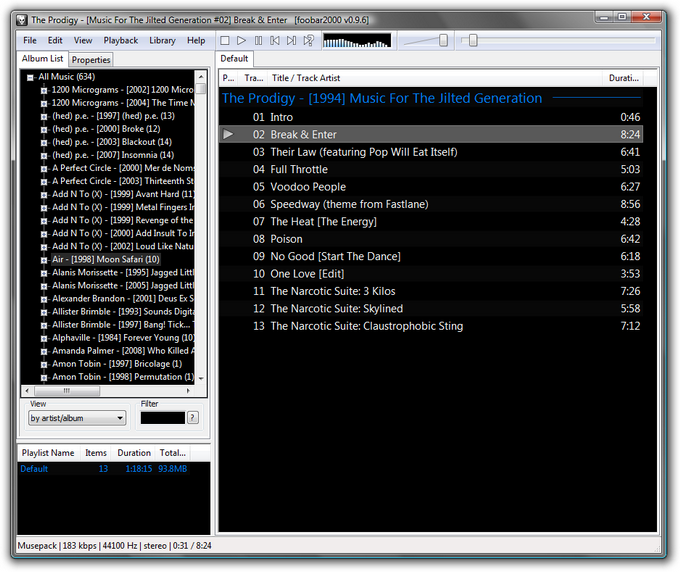 foobar-music-player