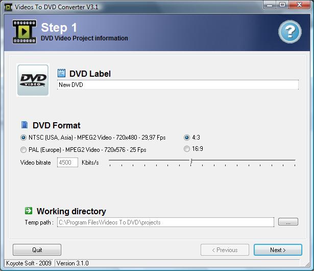 koyote-videos-to-dvd-converter
